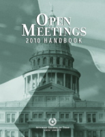 Open Meetings Handbook