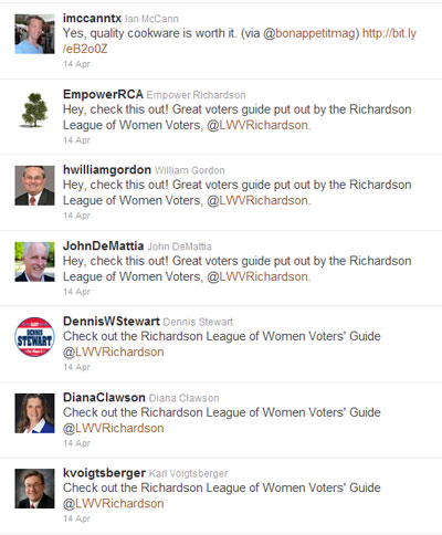 RCA Tweets