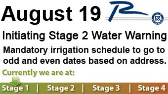 Stage 2 water restrictions