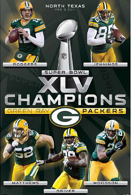 Super Bowl Champions poster