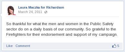 Firefighters endorsement
