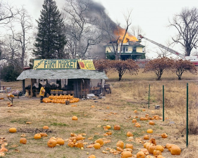 Joel_Sternfeld: McLean, Virginia, December 1978