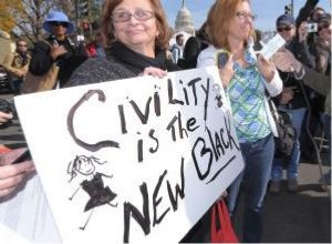 Civility is the new black